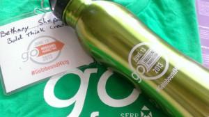 Go Inbound Marketing T-shirt and Bottle