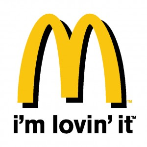 McDonalds Logo I'm Loving It Tagphrase