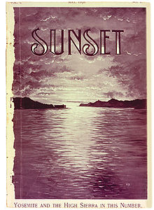 First Edition of Sunset Magazine