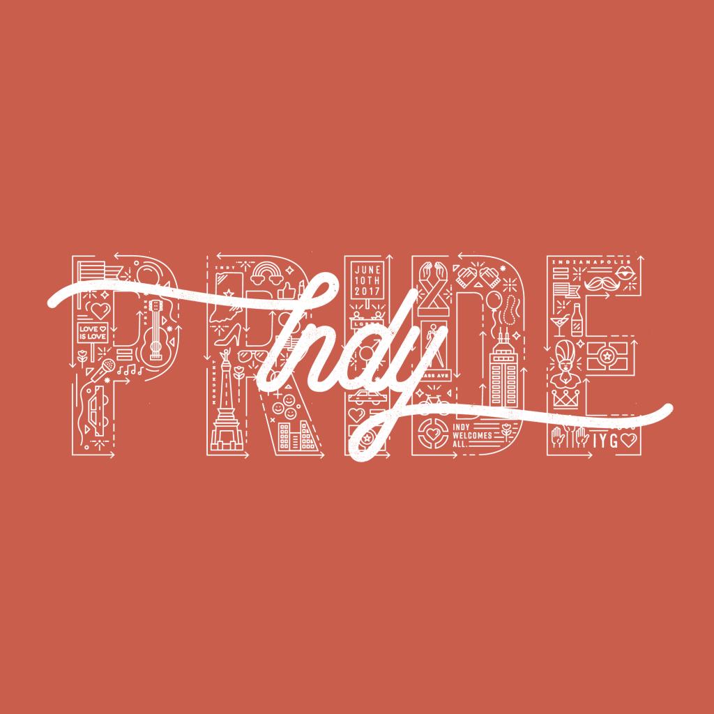 Indy Pride Festival Logo