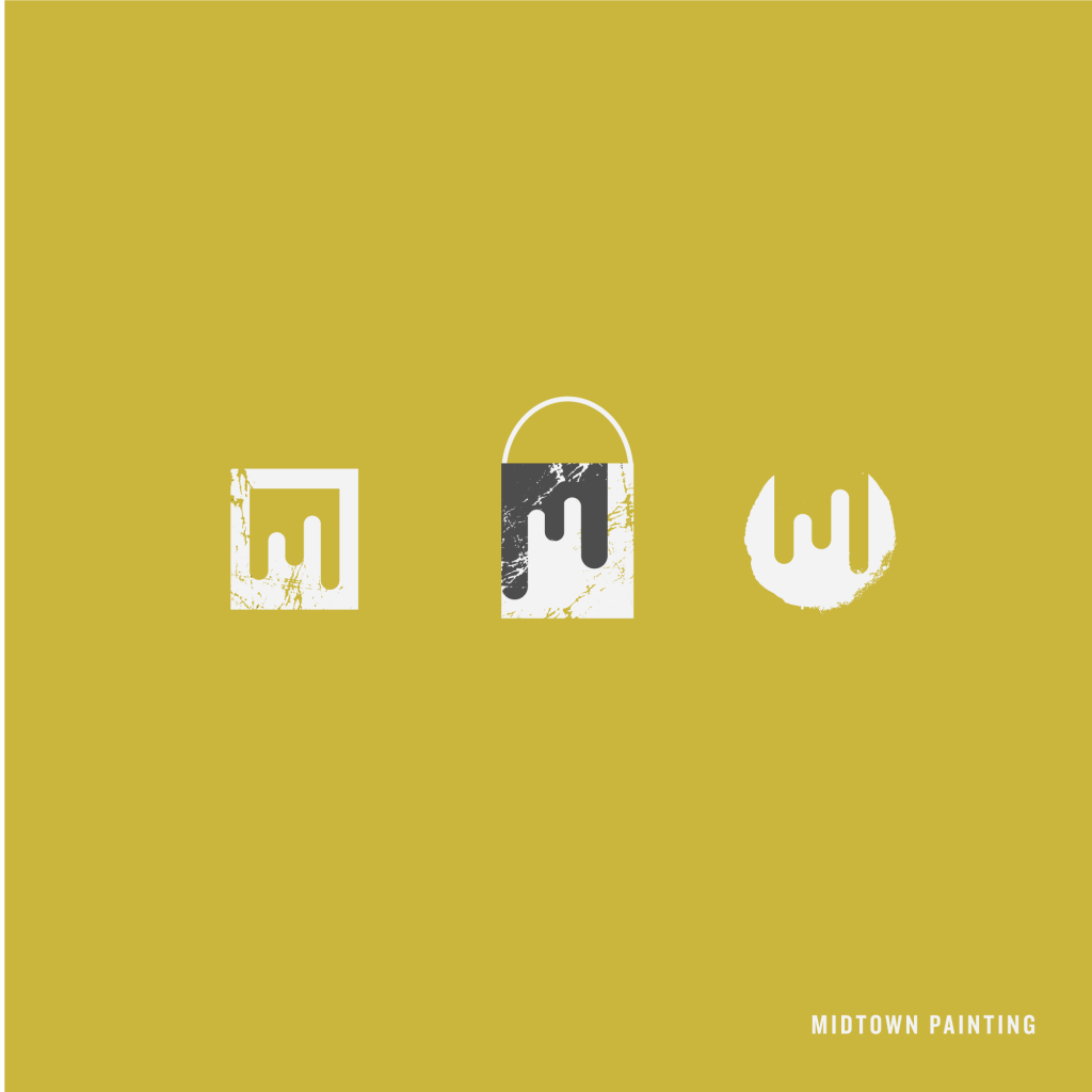 Midtown Painting Logo Designs