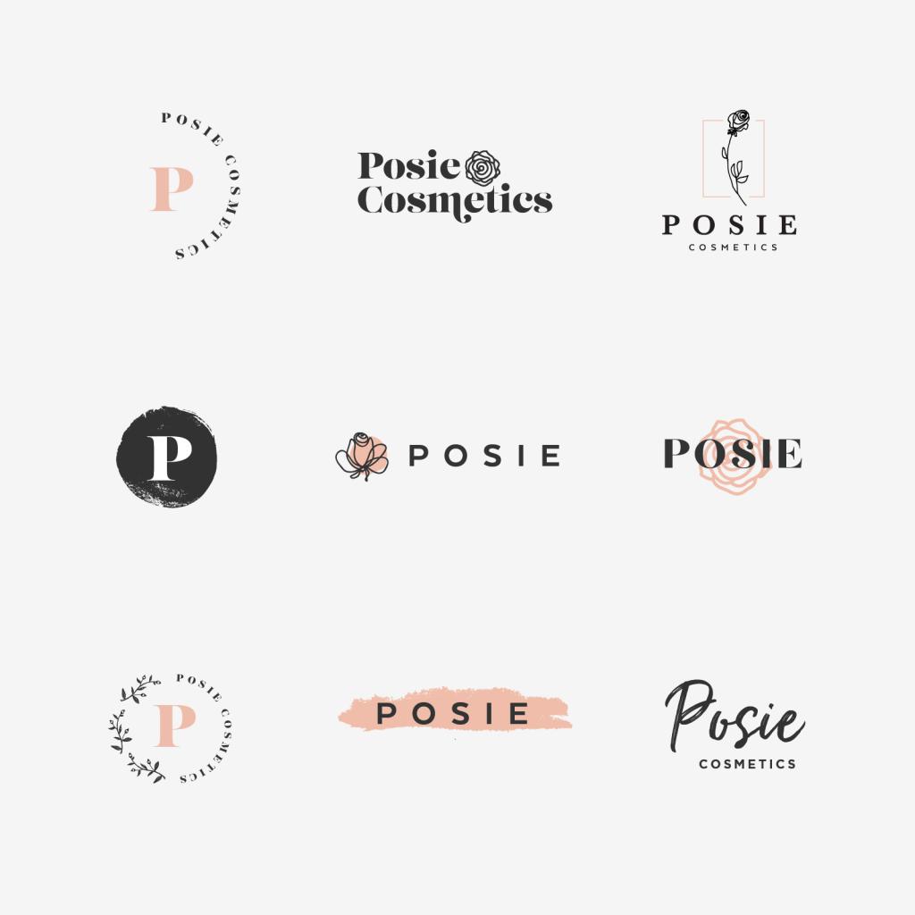 Posie Cosmetics Branding