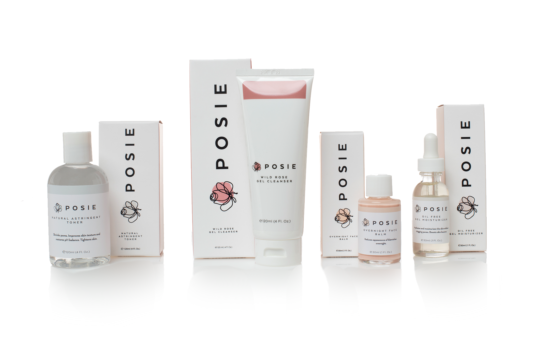 Posie Product Design Packaging